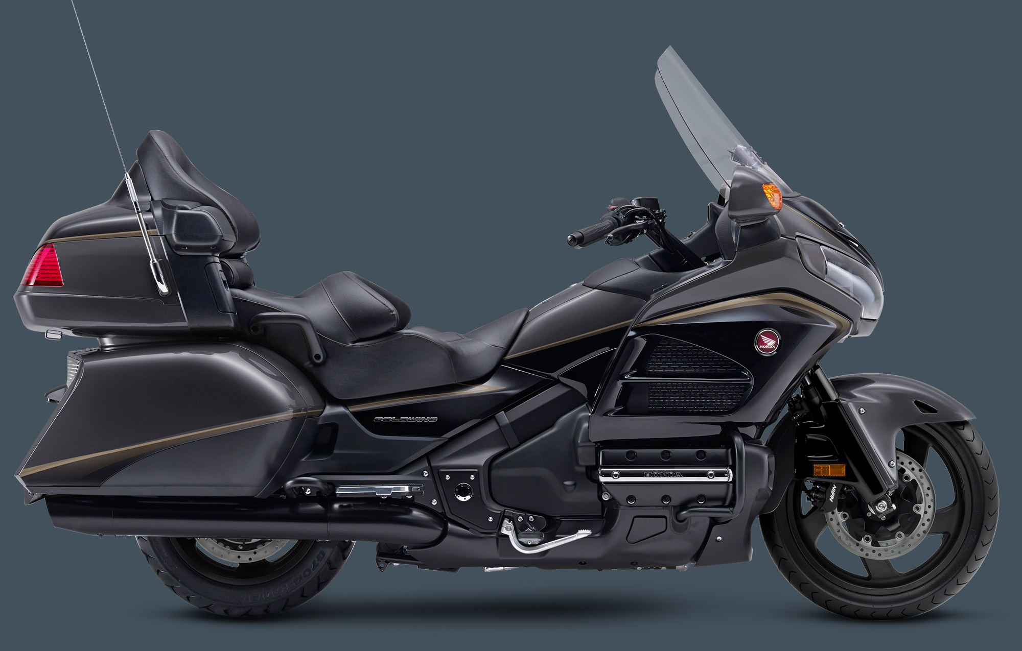 Honda GL 1800 Goldwing 2016. Photo : Honda