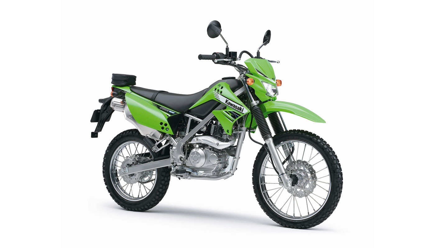 kawasaki klx 125 d tracker test. Black Bedroom Furniture Sets. Home Design Ideas