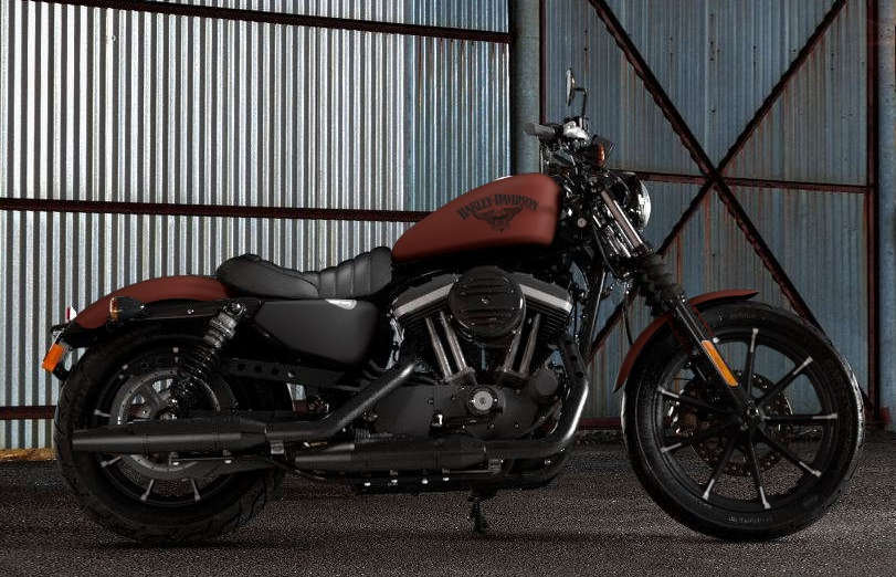 Iron on Sportster Dimensions