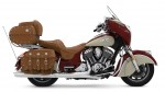 Indian Motorcycle Red over Ivory Cream