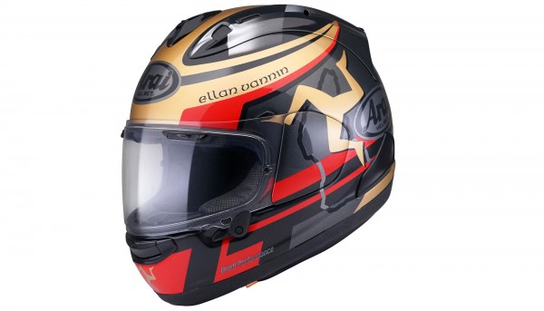 Casque Arai RX-7V Isle of Man TT 2020